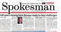 Hill Sees a Strong Farm Bureau