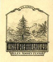 Helen Mooney Fenton Bookplate