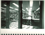 Periodicals reading room in Main Library, the University of Iowa, 1972