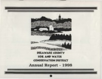 Delaware County Soil Conservation District Calendar & Annual Report - 1998