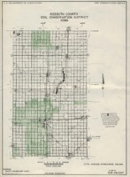 1968 Kossuth County Soil and Water Conservation District Soil Survey Progress Map