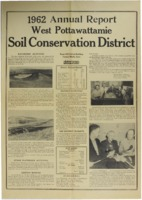 West Pottawattamie County Soil Conservation District Annual Report - 1962