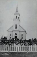 St. Paul Lutheran Church in Garnavillo, Iowa -1902