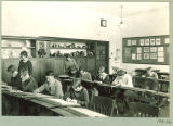 University High School art classroom, The University of Iowa, January 1928