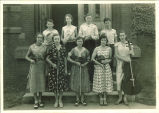 All-State string quintet and woodwind quartet, The University of Iowa, 1930