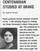 Centenarian studied at Drake