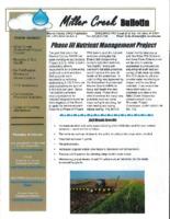 Miller Creek bulletin