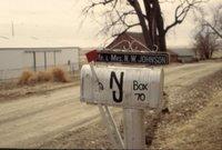 Wally Johnson family farm