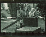Boys playing at preschool, The University of Iowa, 1920s