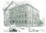North and west exterior of the Old Dental Building, The University of Iowa, 1950s