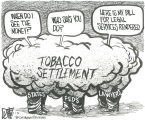 Tobacco settlement