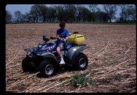 No Till Crops on Jared Herbert's Farm.