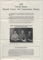 1959 Kossuth County Soil and Water Conservation District Annual Report