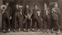 Garnavillo Dutch Band - 1903