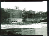 Iowa River and the Hydraulics Laboratory, the University of Iowa, 1920s