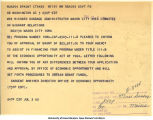 Notice of grant approval, July 3, 1965