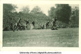 Iowa-Illinois football game at Iowa Field, The University of Iowa, October 21, 1922