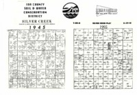 Ida County Soil and Water Conservation District townships plat map place mats