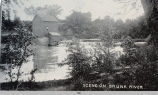 Skunk River in 1896; Iowa; Mahaska County