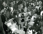 Alumni coffee hour at Homecoming, 1966