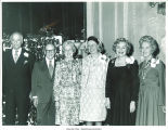 Mary Louise Smith with group posing at the National Women's Republican Club, New York, N.Y., March 22, 1975