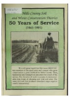 0155. Mills County Soil and Water Conservation District 50 Years of Service ( 1941-1991)
