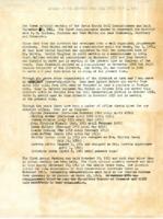 1944-1963 Summary of Activities