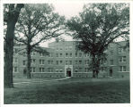 Central section of Hillcrest Residence Hall, the University of Iowa, 1939