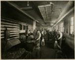 Forging metals class, 1915