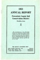 1951 Poweshiek County Soil and Water Conservation District Annual Report