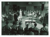 High school production of one-act play The playgoers, The University of Iowa, July 1957