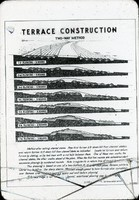 Terrace construction, two-way method.
