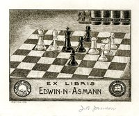 Edwin Asmann Bookplate