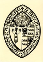 Cautuariensis Archiepiscopi Bookplate