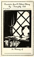 Jane A. Chilcote Library Bookplate