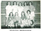 1945-46 volleyball winners, The University of Iowa, 1945