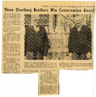 Three Overberg brothers win conservation award.