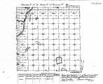 Iowa land survey map of t091n, r033w