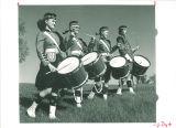 Scottish Highlander drummers, The University of Iowa, 1960s