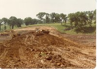 Construction Work at the Big Wyacondah Watershed - Site 16