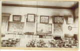 Law classroom in the Old Capitol, the University of Iowa, 1890s