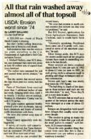 Erosion Worst Since 1974