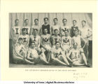 Track and field team, The University of Iowa, 1902-1904