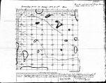 Iowa land survey map of t083n, r003e