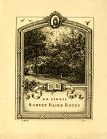Robert Baird Riggs Bookplate