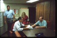 Grassley Visits the SWCD Office.