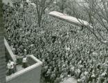 Pep rally , 1948