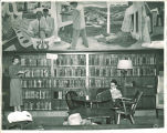 Library in the Iowa Memorial Union, the University of Iowa, 1950s?