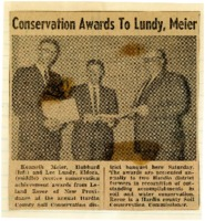 Lundy and Meier win conservation awards.