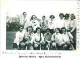 Milwaukee field hockey club, The University of Iowa, November 1948